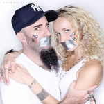 Scott Ian (Anthrax) and Pearl Aday