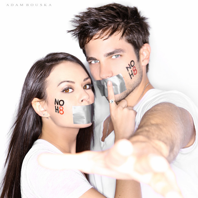 NOH8 Photos from the Pretty Little Liars Cast | NOH8 Campaign